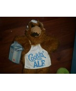 Vintage 1988 Burger King Cooking with Alf Chef Hand Puppet Plush W/Tag - $4.95