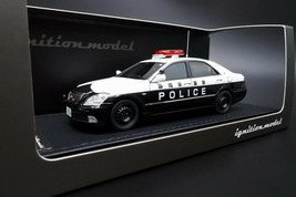 ignition model IG2094 1/43 Toyota Crown GRS180 Shizuoka Police Traffic Force #55 - $265.58