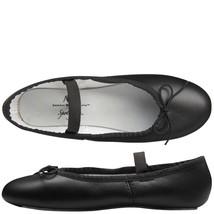 Spotlights Ballet Shoes ABT Toddler 9.5 Black Leather Full Sole Dance NIB - $18.33
