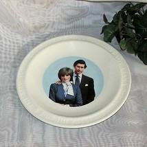 PRINCE CHARLES DIANA ROYAL WEDDING COLLECTOR PLATE MARRIAGE BRITISH ROYA... - $14.37
