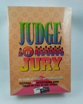 1995 Judge 'n' Jury The Game Of Trials And Tribulations Audio Cassettes ... - $19.26