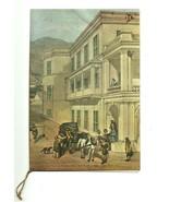 Menu Cathay Pacific Airways Hong Kong Litho Art Cover Wyndham St Hong Ko... - $18.99
