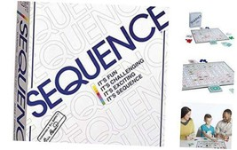 Jax Sequence - Original Sequence Game with Folding Board, Cards and Chips by Jax - $24.86
