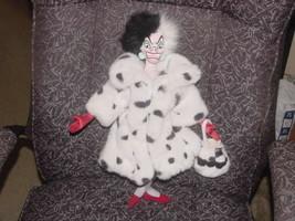 """16"""" Disney Cruella De Vil Plush Doll From 101 Dalmations - $59.39"""