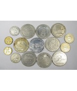 15 Various Vintage Gamling Casino Tokens All Different C2289 - $22.16
