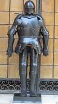 NauticalMart Gothic Black Antique Full Suit Of Armor Wearable Halloween Costume - $799.00