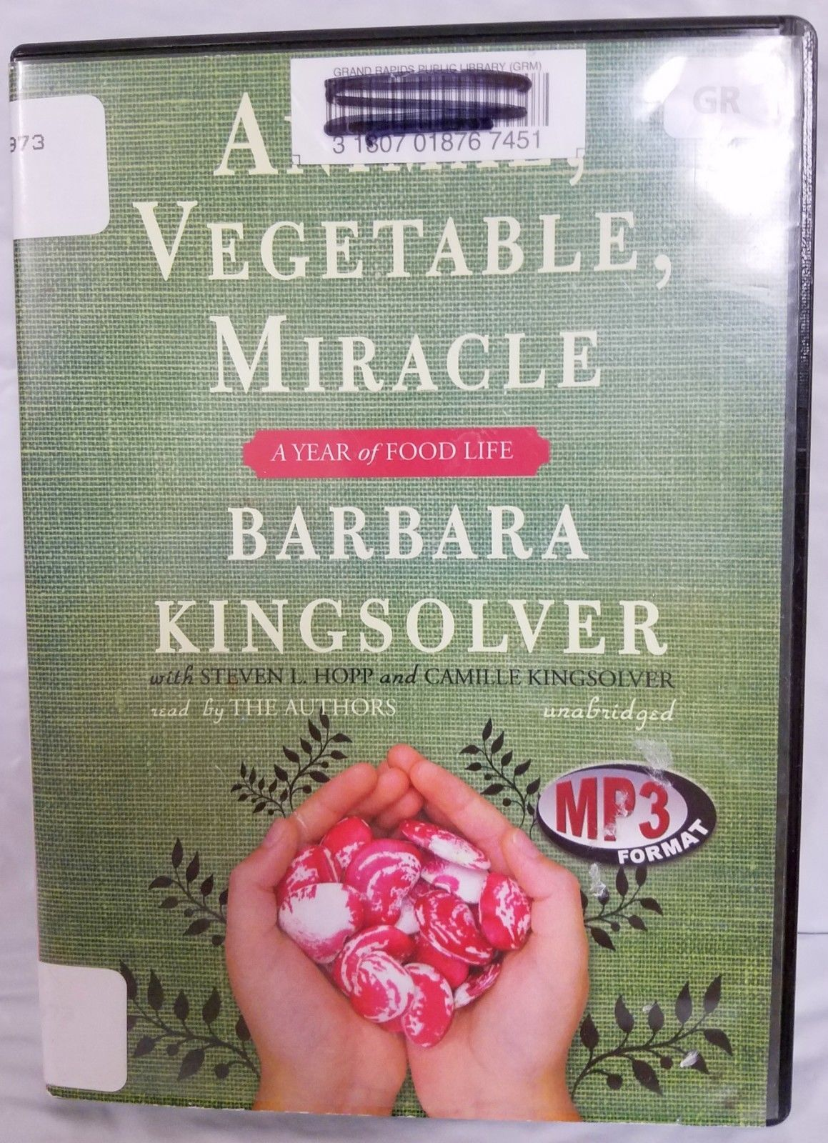 Animal, Vegetable, Miracle by  Barbara Kingsolver - Audiobook - MP3 CD