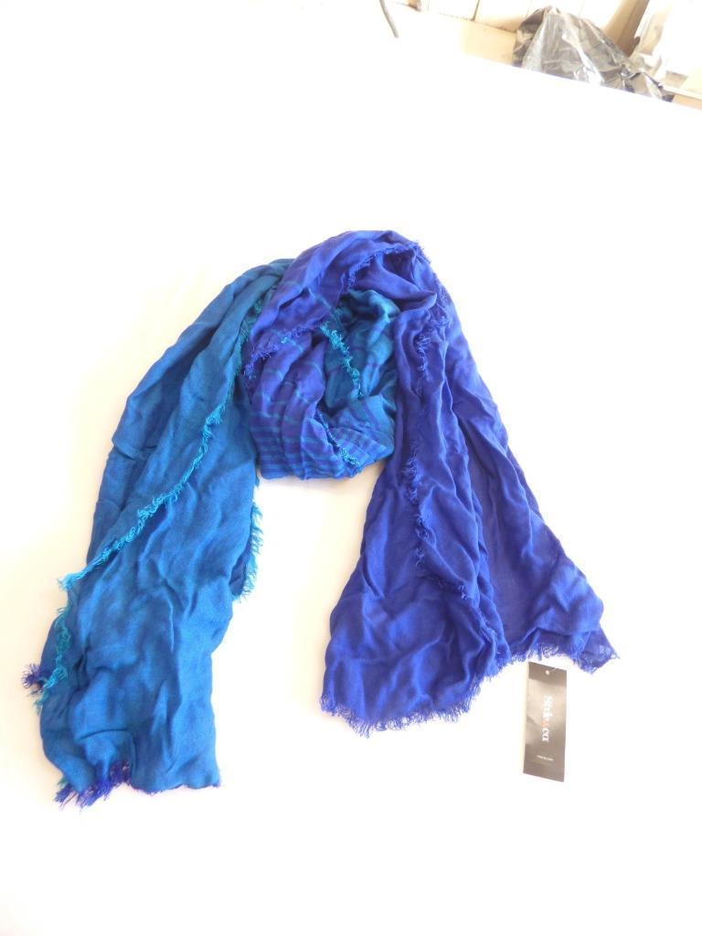 Style & Co. Womens Vintage Cross DYE,  Ombre Wrap,  Ink/ Enamel Blue O/S