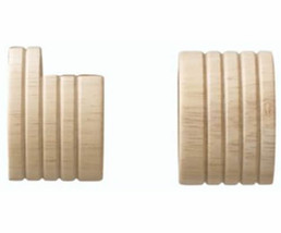"""Kirsch Wood Trends Classics  Inside Mount Sockets  for 1 3/8"""" pole, Unfinished  - $10.87"""