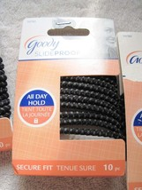 10 Goody Ouchless Stay Put Ponytailer Hair Bands No Metal Elastics Secure Fit 12 - $8.00