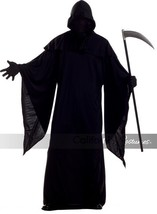 California Costumes Horror Robe Grim Reaper Adult Mens Halloween Costume... - £20.55 GBP