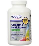 Equate Mature Adults 50+ Multivitamin 220 c - £14.54 GBP