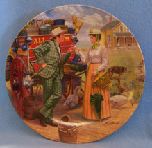 KNOWLES COLLECTORS  PLATE OKLAHOMA SERIES I CANT SAY NO OK MORT KUNSTLER - $10.84