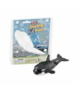 Diving Fish Toy Black Whale Batteries Powered Adjustable Durable Water R... - $19.79