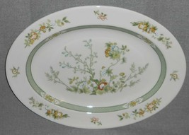 "Royal Doulton TONKIN PATTERN 13 1/8"" Oval Serving Platter MADE IN ENGLAND - $49.49"