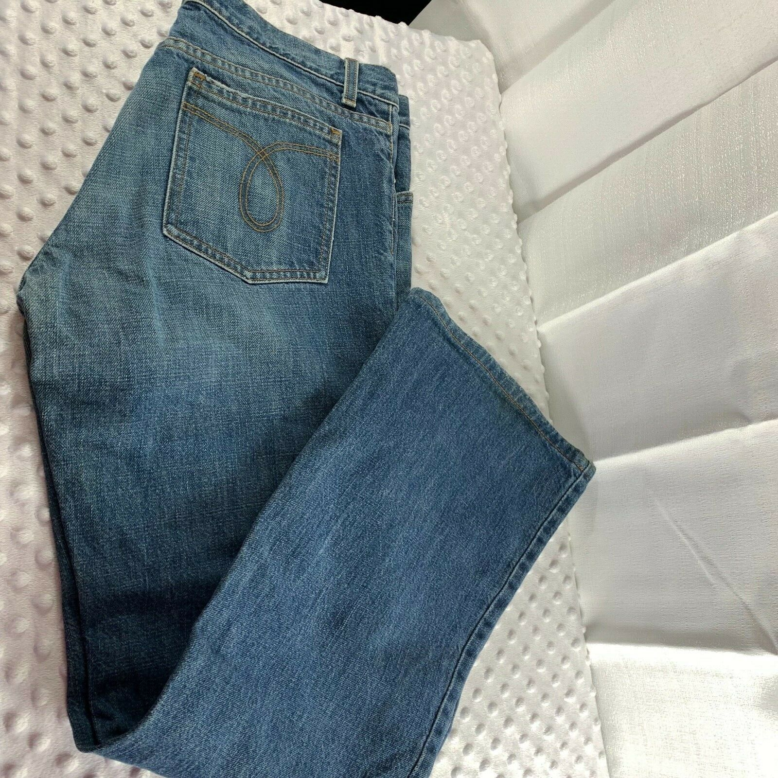 Juicy Couture Sz 31 Womens Jean Straight Leg