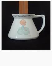 Travel Mugs  I'M FOLLOWING JESUS Precious Moments Figurine  PM-863 BOY C... - $14.44