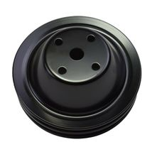 Long Water Pump Pulley LWP Double-Groove For Small Block Chevy SBC 262 350 400 image 7