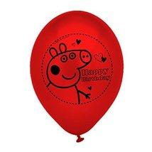 Gemma 10 Peppa Pig Latex Balloons - $1.09