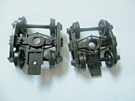 Kadee # 510 Andrews Metal Trucks With #148 Whisker Couplers 1 Pair HO Scale image 1