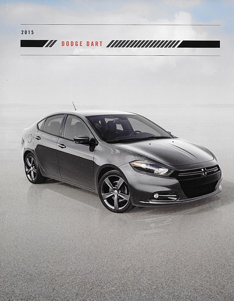 Primary image for 2015 Dodge DART sales brochure catalog 15 Aero SXT Rallye Limited GT Blacktop