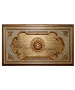 Renaissance Antique Style Gold Leaf Chandelier Ceiling Medallion Big 94'... - $1,262.25