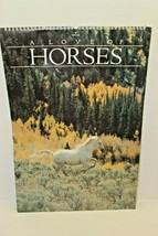 "Vintage 1989 Hallmark A Love Of Horses 12 Poster Sized Photographs 21"" X... - $31.68"