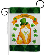 Patty Kitty - Impressions Decorative Garden Flag G192303-BO - $19.97
