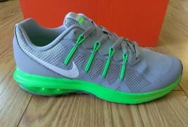 Nike Air Max Dynasty GS [820268-003] Running Wolf Grey/White-Green Boys 7 NIB - $79.99