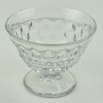 Vintage Fostoria American Clear Pattern Sundae Glass 2056 Retired Glassw... - $8.99