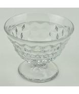 Vintage Fostoria American Clear Pattern Sundae Glass 2056 Retired Glassw... - $8.99