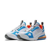 Nike Air Max 270 Futura White Blue Total Orange AO1569-100 Mens Shoes image 2