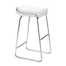metal barstools, White Wedge Elegant counter modern barstools chair, Set... - $435.99