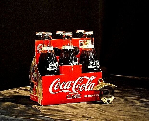 Vintage Coca Cola Classic 6 Pack Collection AB 10