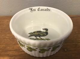 """Porcelaine d'Auteuil Chambord 3.5"""" Ribbed Ramekin LES CANARDS Duck Apilc... - $32.71"""
