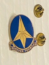 US Military 197th Infantry Brigade Insignia Pin - Forever Forward - $10.00