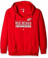 NHL Detroit Red Wings Hockey Women's Plus Size 1X Pullover Hoodie Sports... - $36.63