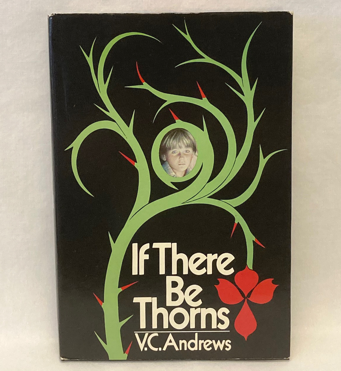 Primary image for HC book If There Be Thorns by V.C. VC Andrews 1981 Book Club Edition BCE