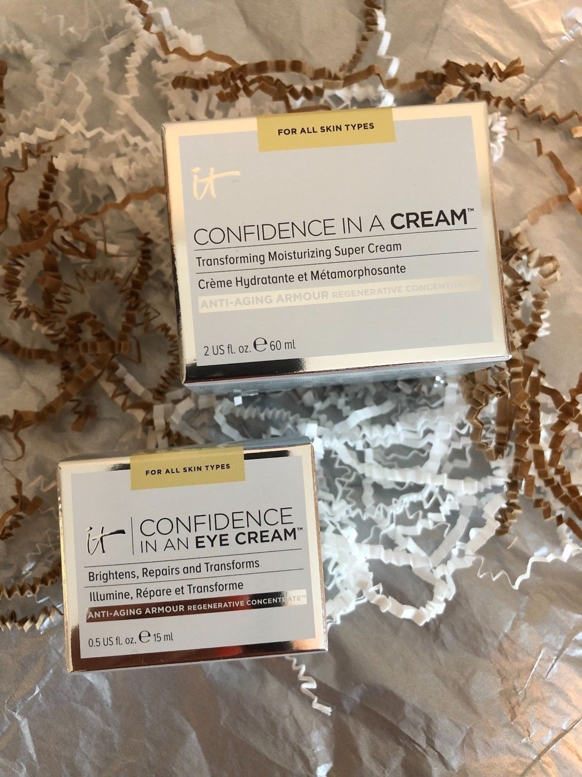 Primary image for BRAND NEW IN BOX Confidence in a Cream Moisturizing Super Cream Choose Size