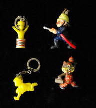 German European Advertising Character Keychain Figure Premium Lot Feuerw... - $16.99