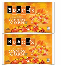 5 Lbs. Pounds Brach's Classic Candy Corn 4 Bags 20 Oz. Each Halloween Expedited - $38.52