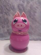 Handmade Glass Pig - $38.26