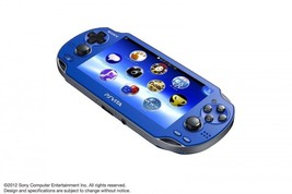 PlayStation Vita, WiFi Sapphire Blue, Japanese Version Free shipping RAR... - $283.80