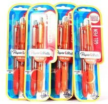 4 Packages Mate Ink Joy 0.7mm Medium Point 2 Count Comfort Grip Gel Pens - $23.99