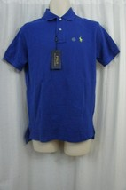 Polo Ralph Lauren Mens Shirt Sz S Blue Classic Short Sleeve Basic Polo Shirt - $45.08