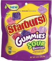 Starburst Gummies Sour Berries, Candy, 8 oz 1 - $14.30