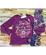 Gymboree Mix N Match Be Fearless Wild Flower Top Leggings NWT 5 6 Outlet - $17.99