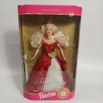 Barbie Doll Blond 16485 Valentine Christmas Target 35th Anniversary 1997 NRFB  - $16.58