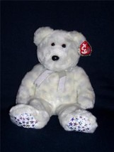 2000~TY ORIG Beanie Buddy~THE BEGINNING BEAR~2nd Gen HT 3rd Gen TT~MWMT~... - $8.88