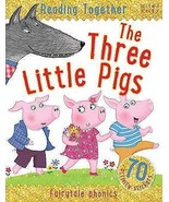 Reading Together The Three Little Pigs, Miles Kelly Book The Cheap Fast ... - £4.44 GBP